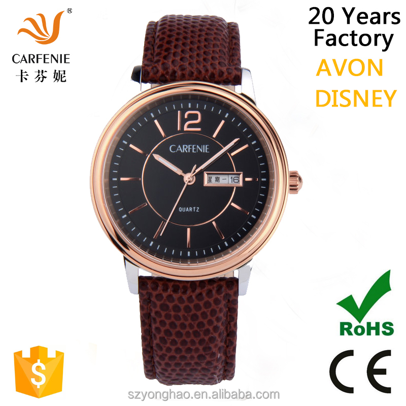 2016 top quality mens stainless steel 5 atm
