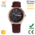 2017 top quality mens watch, stainless steel watch 5 ATM