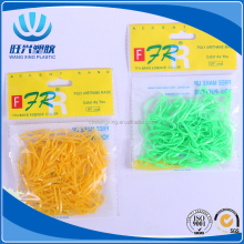 Fashion color rubber band and elastic hair band for hair decoration