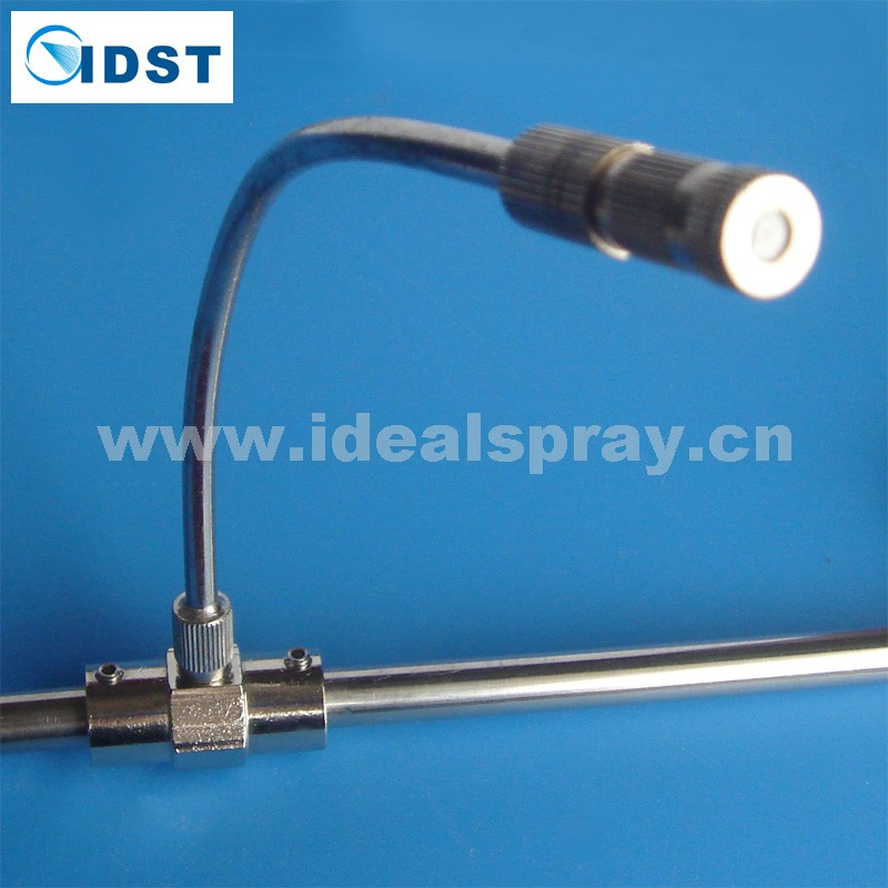 High Pressure Mist Nozzle with built-in filter, Misting Nozzle with a PP filter