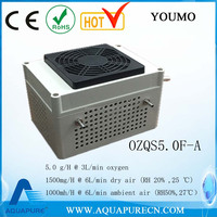 2016 new launch ozone generator cell with cooling fan for 5g/hr