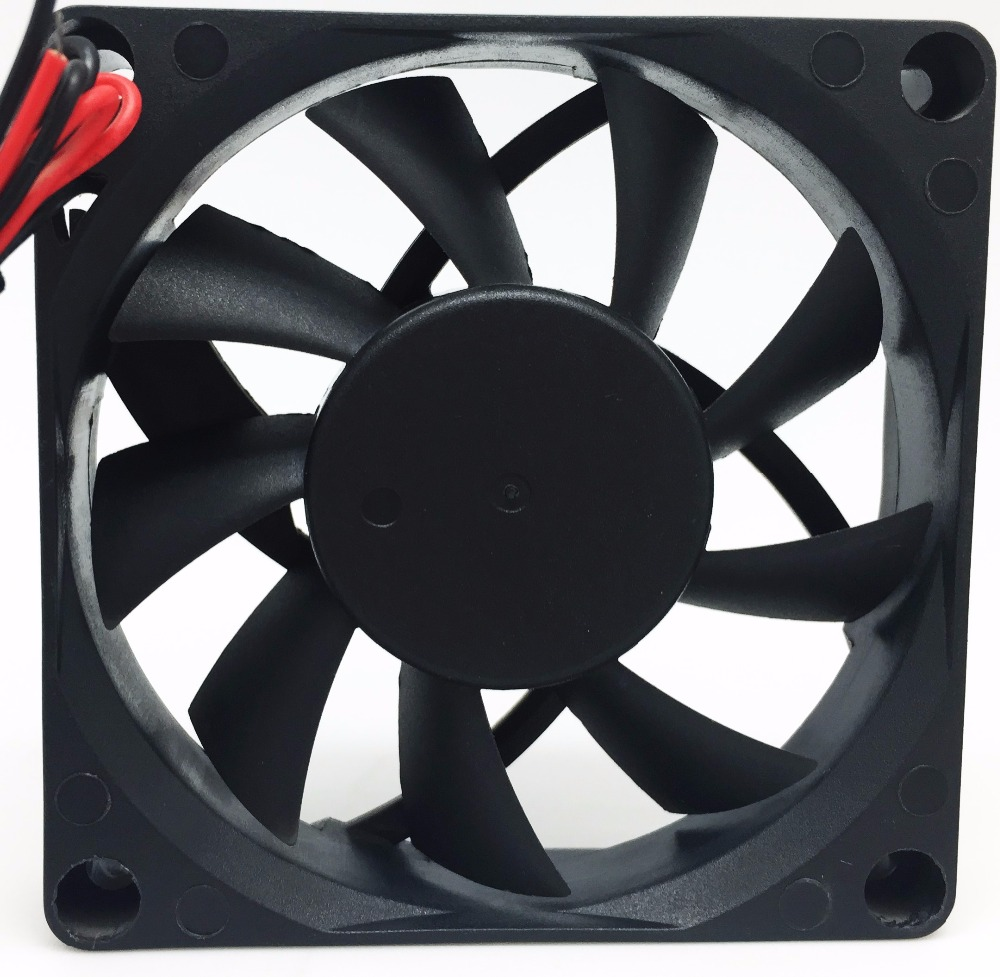 Powerful Exhaust 12 cm Small Industrial 24 Volt DC Brushless Fan