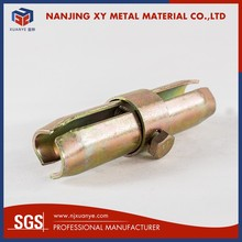 Hot selling Inner joint 32mm steel rebar coupler price