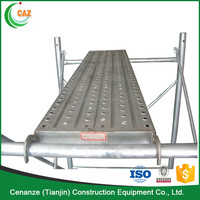 scaffolding steel plank used for construction