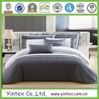 Hotel Style High Quality Microfiber Fabric 4 Pcs Bedding Sheet Set