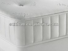 Economic creative cheap aloe vera pocket spring mattress