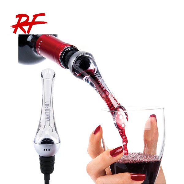 Acrylic Wine Aerating Pourer,, 2 in 1 wine aerator and bottle pourer/ disposable wine pourers