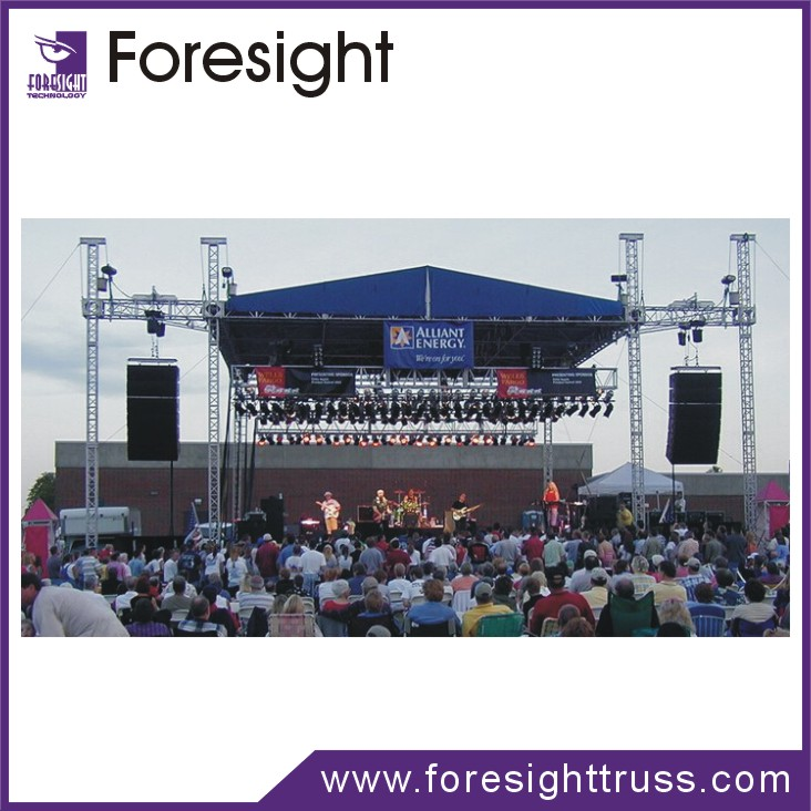 400*600mm outdoor Heavy Duty aluminum stage stand lighting Truss System for large - scale performances