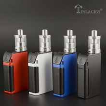 Wholesale Supplier! New Products 2016 Teslacigs Three 5000mAh Capacity & 150W Box and New Products Teslacigs Carrate 24 RTA