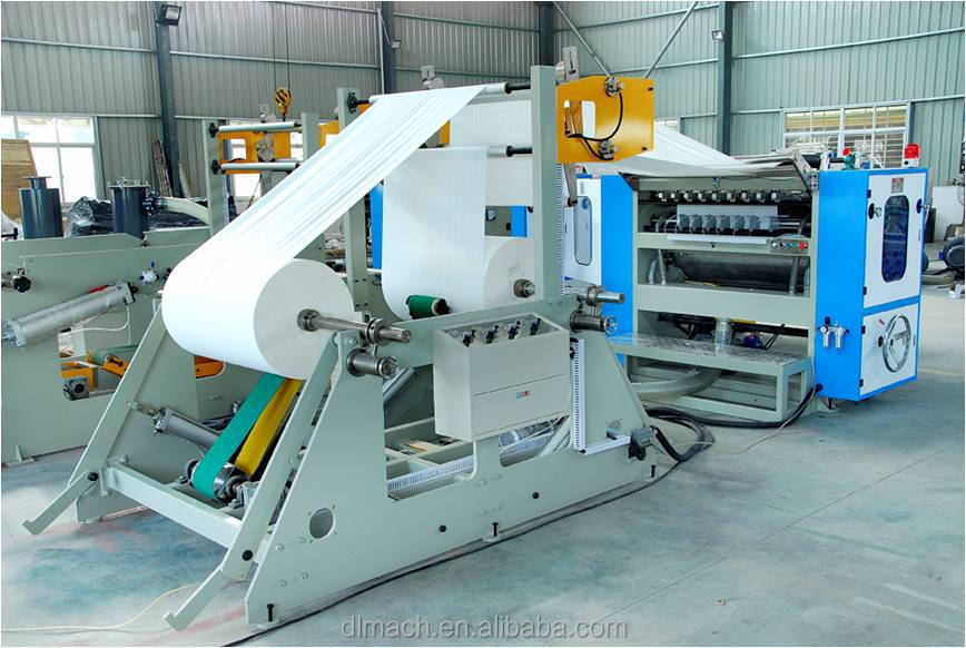 CE Certificate High Speed Box Drawing Type Automatic Paper Facial Tissue Making Machine