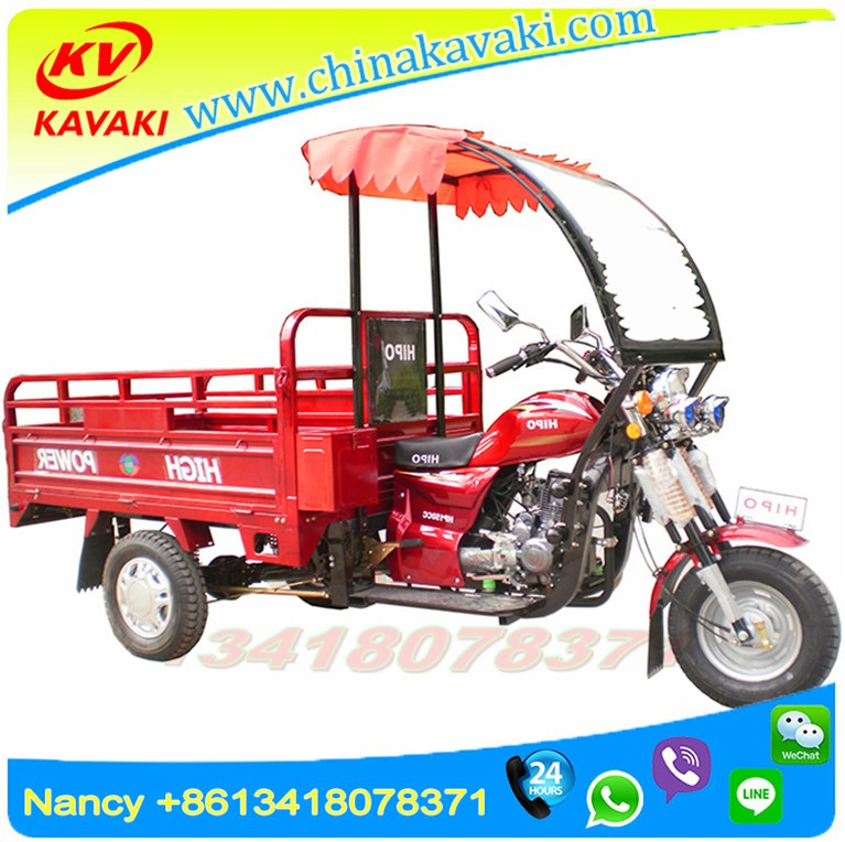 High power china 200cc kavaki cargo tricycle