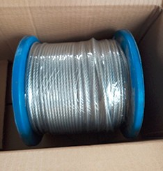New brand 2017 ground wire galvanized steel cable With Promotional Price
