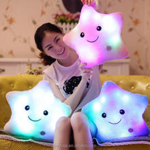 Good Quality Children's Room Decoration Appease Glow LED flash Hold pillow