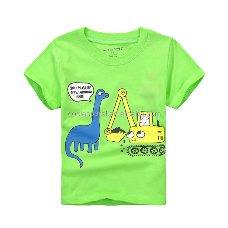 short sleeve baby children overseas bulk v-neck t shirt