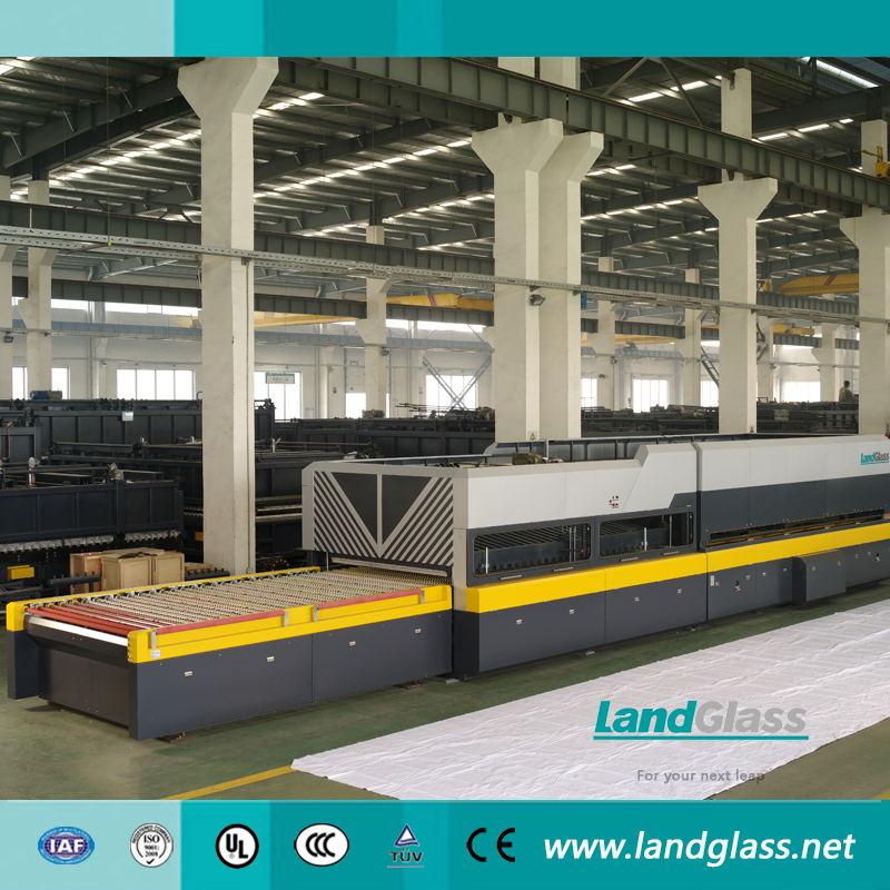 Landglass Continuous Clear Hardening And Tempering Furnace