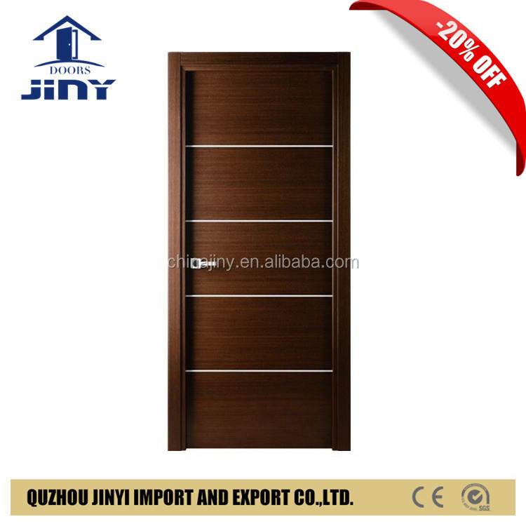 The cheapest interior room pvc mdf door model prices made in jiangshan