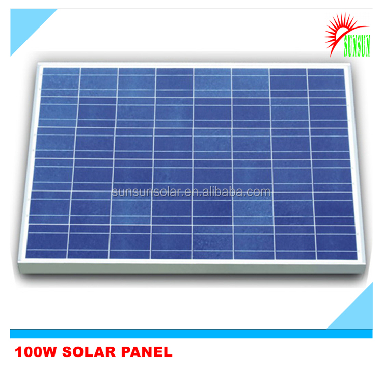 Best price polycrystalline 12V 100W Solar Panel