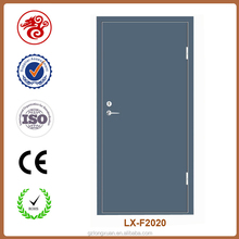 Modern color paint double swing fire doors in high quality steel sheet