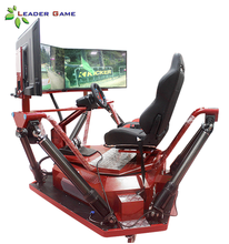3 Screen Video Game 6Dof F1 Simulator Play Seat Arcade Game Machine Race Car Driving Simulator