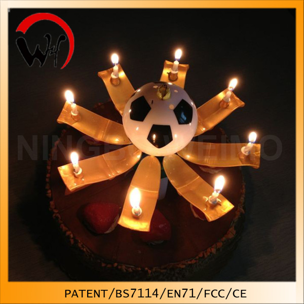 Patent creative trophy music birthday candle most popular items