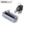 6201 China factory tubular vending machine lock with atm master key sysetem