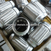 stainless steel hand knitting muffler for automobile