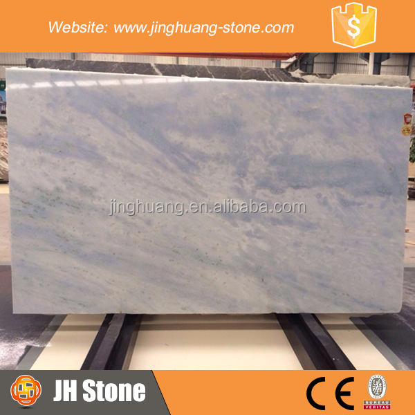 JH Fancy Blue Marble Slab and Tile Beautiful White and Blue Marble Slab and Tile for Decoration