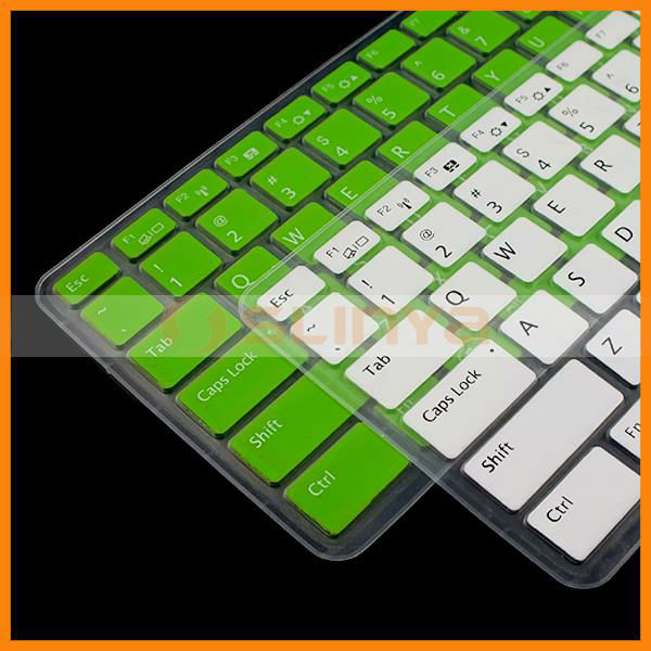 Laptop Computer Silicone Anti Dust Waterproof Keyboard Film Cover for Toshiba