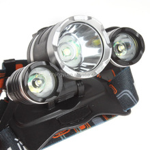 30w aluminum rechargeable zoom 3000 lumen led head light