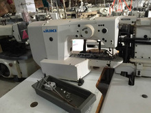 original second hand used juki high speed direct drive electronic bartacking sewing machine