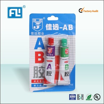Acrylic AB glue(red +green) super glue epoxy resin AB glue