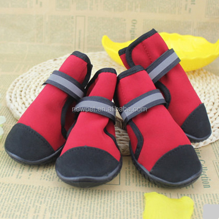 Most popular fashion design outdoor waterproof pet/ dog shoes