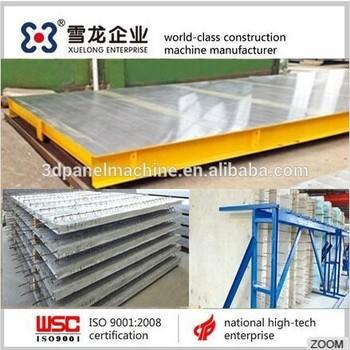 concrete forming machine