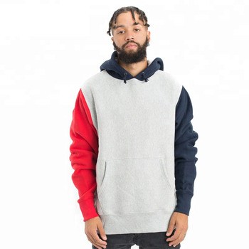 Cheap price high quality cut and sew hoodie,color block hoodie,cut and sew hoodie