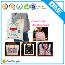 High Quality Foldable Ladies Cloth Canvas Cotton Tote Hand Bags