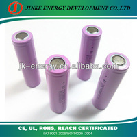 3.7v lithium ion rechargeable 18650 li battery 2000mah