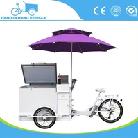Quality and cheap 3 wheel ice cream cargo tricycle