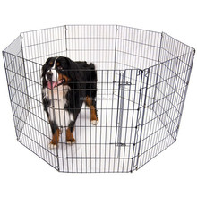 Dog Exercise Containment Pet Pen Playpen Crate Kennel Fence Portable Puppy Cage