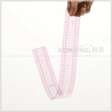 Kearing Top Rated Long Fashion Design Pattern Making Ruler 60cm Grading Ruler for Sewn Tailors