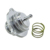 PQY RACING-New Type Silver BLOW OFF DUMP VALVE for VAUXHALL OPEL ASTRA CORSA 1.4 TURBO Bov adapter PQY5794SL