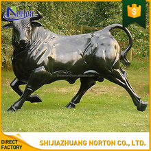 garden/outdoor decor Trade Assurance bronze large bull sculpture NT-BS198Y