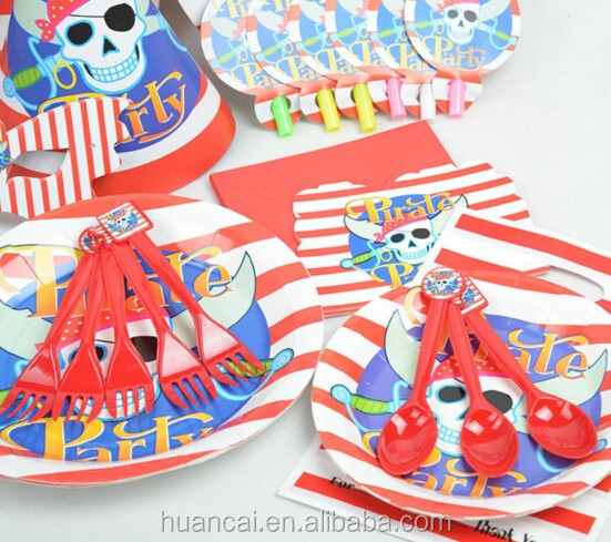 Kids theme birthday party decorations sets wholesale party supplies for girls and boys