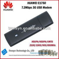 Original Unlock HSDPA 7.2Mbps HUAWEI E1750 3G USB Dongle And 3G USB Data Card