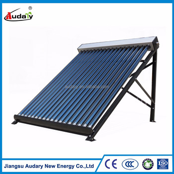 high efficiency heat pipe pressurized solar collector (CE,SOLAR KEYMARK,SRCC)