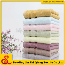 China cheap Bamboo fiber clean face towel