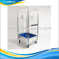 Warehouse Stainless Steel Roll Cage Rack