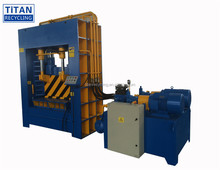 Hydraulic scrap metal gantry shear