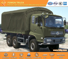 Dongfeng Tianjin 6X6 210hp 6wheels military troop carrier truck