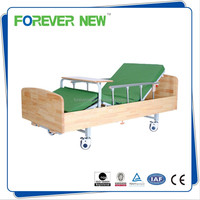 YXZ-C-009 china supplier product medical equipments wooden nursing bed manual elderly care