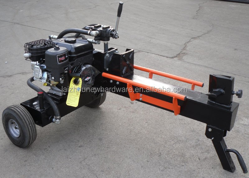 Horizontal Log Splitter 13T with gasoline engine, 520mm cutting length, new item